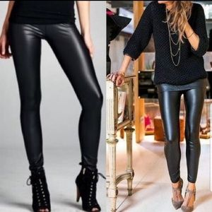 Pants - Two left!!  Matte faux leather leggings